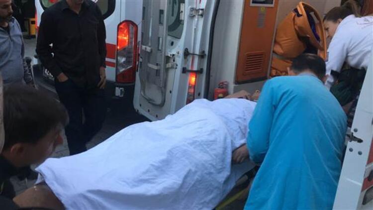 Balkondan düşen 12 yaşındaki Hüseyin, yaralandı