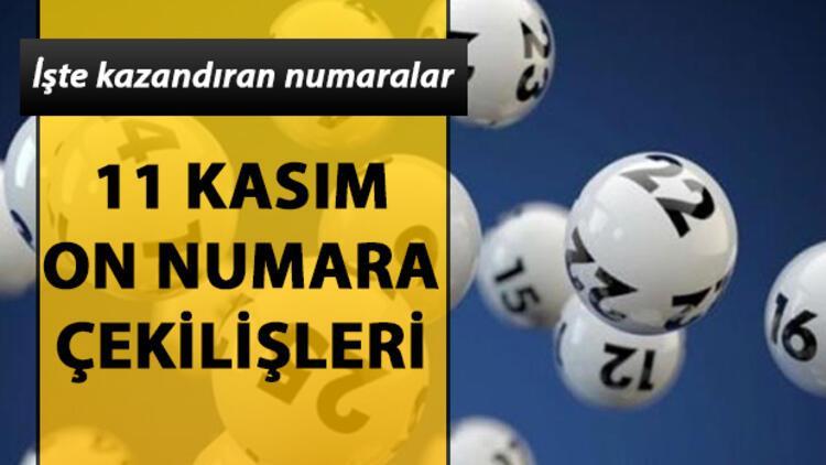 On Numara'da 192 bin TL sahibini buldu! 11 Kasım MPİ On Numara çekiliş sonuçları sorgulama
