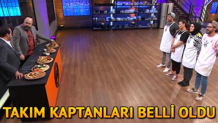 MasterChef Türkiye'de kaptanlık oyununu kim kazandı? İşte MasterChef'in bu haftaki takım kaptanları