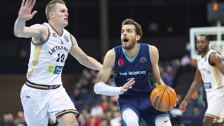 Türk Telekom, FIBA Şampiyonlar Ligi'nde Filou Oostende'yi ağırlayacak