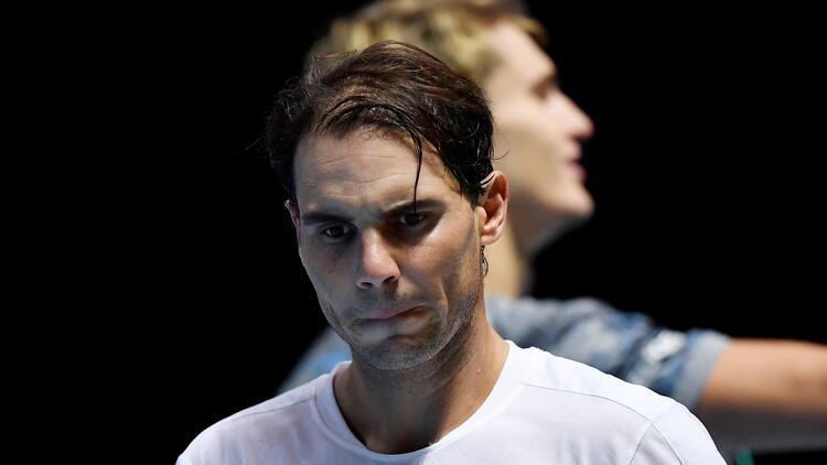 ATP Finalleri'nde sürpriz sonuç! Nadal, Zverev'e kaybetti...