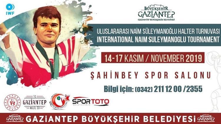 Naim Süleymanoğlu ismi Gaziantep'te ölümsüzleşiyor