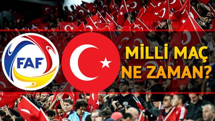 Andorra Türkiye milli maçı ne zaman saat kaçta hangi kanalda? EURO 2020 A Milliler'in aday kadrosu