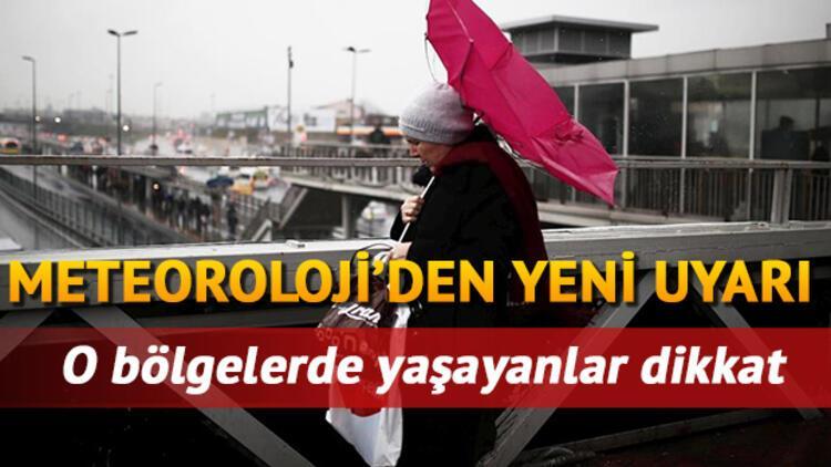 Perşembe günü için İstanbul'a sağanak yağış uyarısı... 14 Ekim il il hava durumu tahminleri