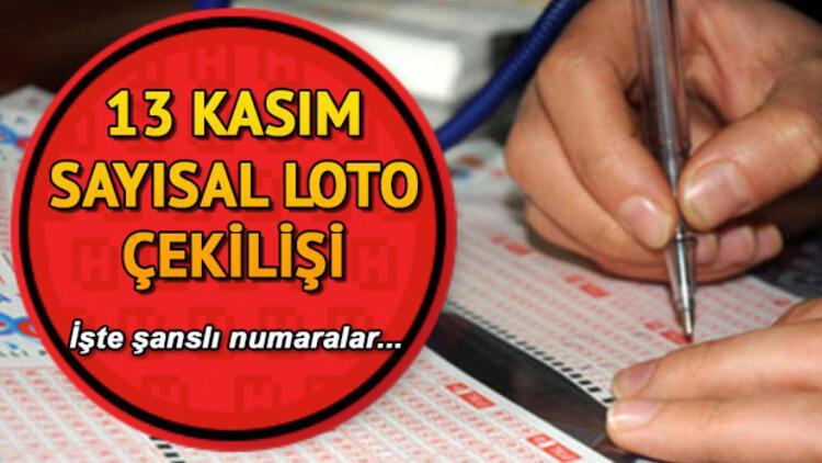 Sayısal Loto'da 4 milyon TL 1 kişiye çıktı! MPİ 13 Kasım Sayısal Loto çekiliş sonuçları ve sorgulama