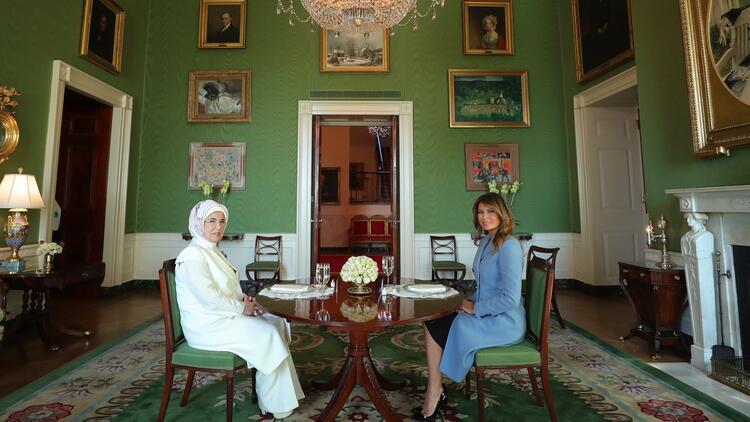 Emine Erdoğan'ndan ABD ziyaretine ilişkin paylaşım