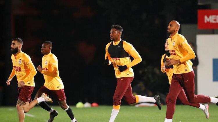 Galatasaray, Başakşehir maçının hazırlıklarına başladı