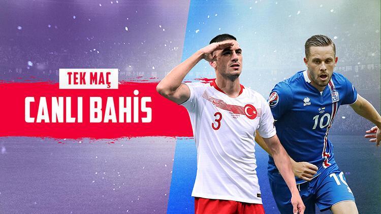 İzlanda karşılaşması iddaa'da TEK MAÇ! Hedef Euro 2020, galibiyetimize verilen oran...