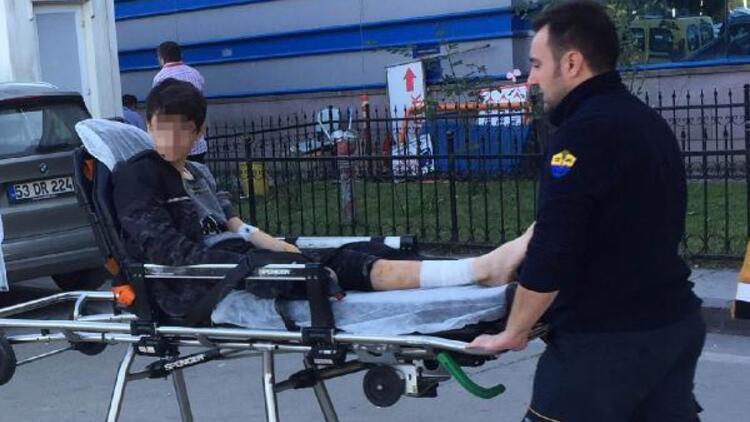 'Rottweiler'ın saldırdığı ortaokul öğrencisi yaralandı