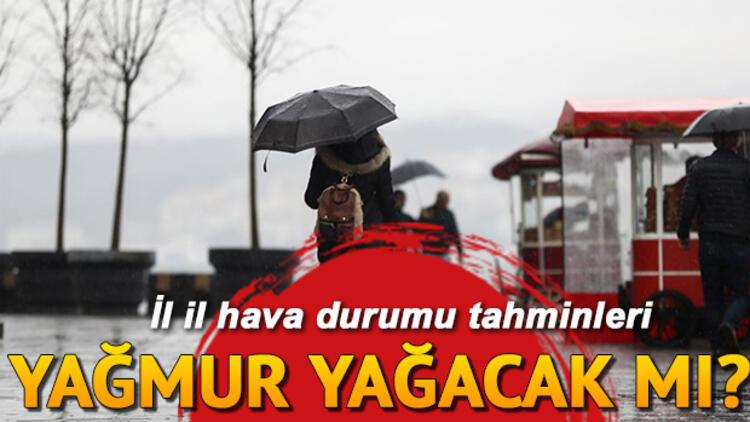 Yarın hava nasıl olacak, yağmur yağacak mı? 15 Kasım Cuma il il hava durumu raporu