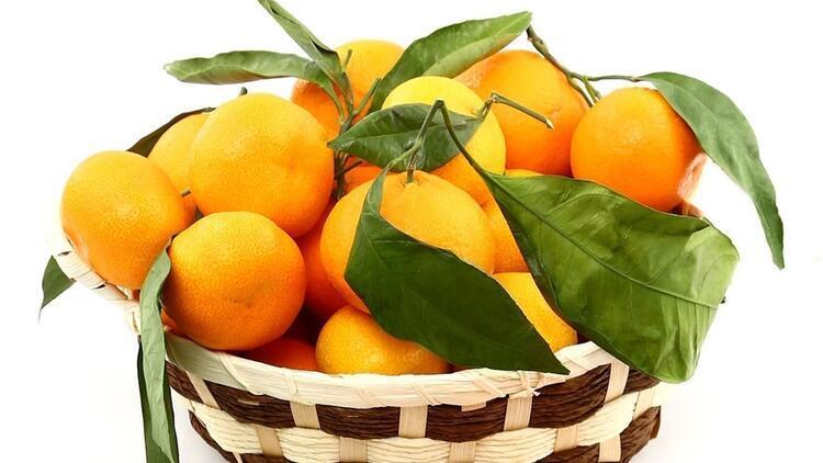 Menderes'te mandalina festivali zamanı