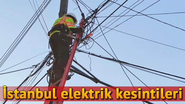 15 Kasım İstanbul elektrik kesinti listesi   Elektrikler ne zaman gelecek?