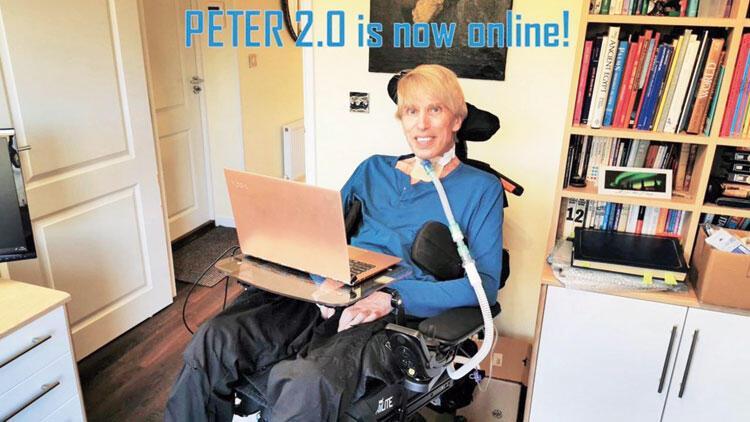 İnsan robota dönüşüyor... Peter 2.0 artık çevrimiçi!