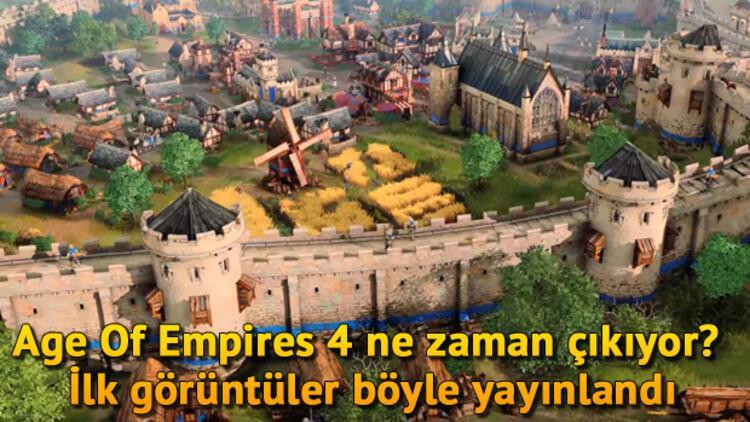 Age Of Empires 4 ne zaman çıkıyor? İlk görüntüler böyle yayınlandı