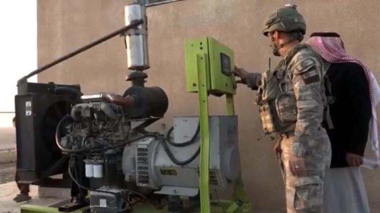 MSB: Rasulayn'a bağlı Nukra köyünde elektrik jeneratörü kuruldu