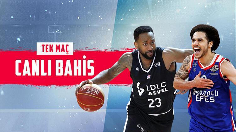 Euroleague maçlarına Misli.com'da TEK MAÇ fırsatı, CANLI BAHİS keyfi!