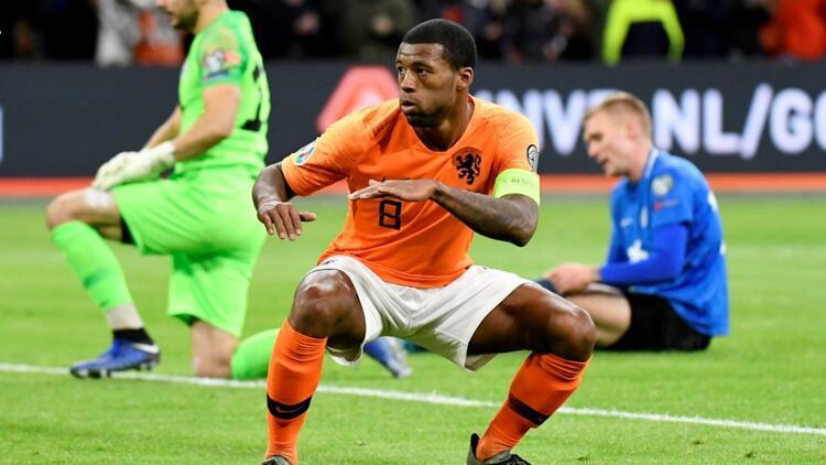 Wijnaldum coştu, Hollanda galibiyetle bitirdi