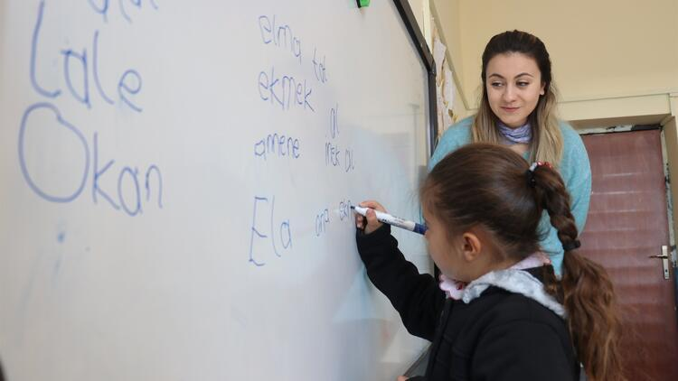 12 öğrencili köy okulun tek öğretmeni