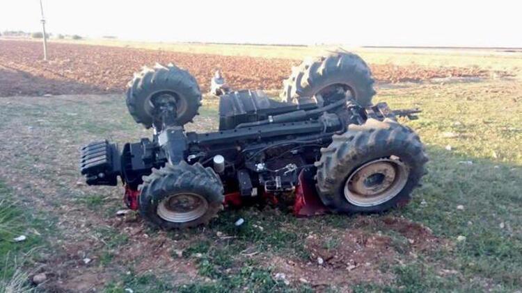 Traktörü devrilen Yusuf, öldü