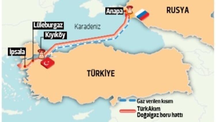Putin ziyareti öncesi 'gaz verdiler'