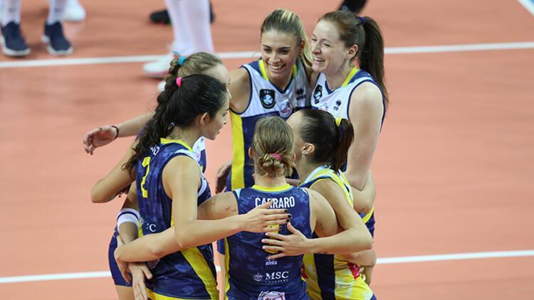VakıfBank, CEV Şampiyonlar Ligi'ne kötü başladı