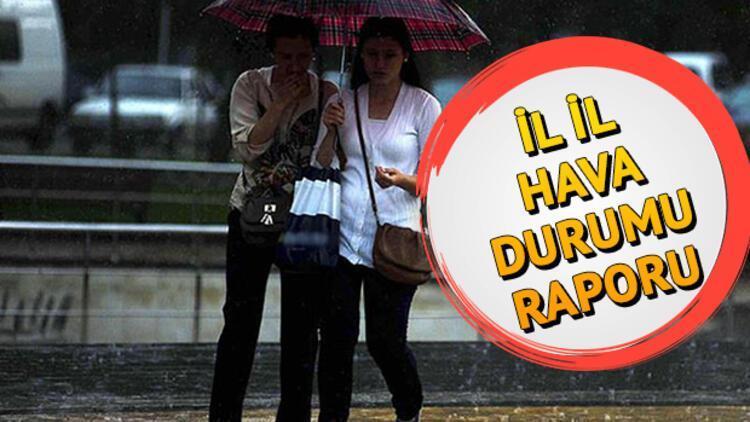 Meteoroloji'den cuma günü için yağış uyarısı... 22 Kasım il il hava durumu tahminleri
