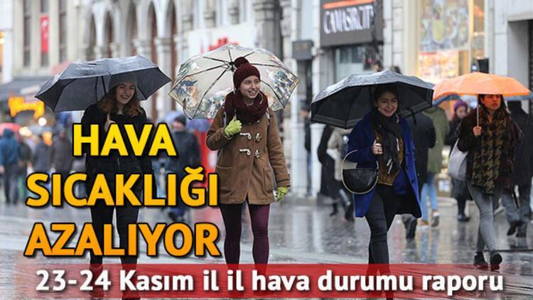 Hafta sonu hava nasıl olacak? 23 24 Kasım il il hava durumu tahminleri