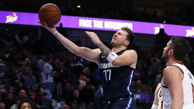 NBA'de gecenin sonuçları | Luka Doncic'ten yeni rekor! Üst üste 3 maçta...