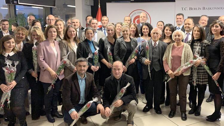 Almanya, Londra ve Belçika'da 24 Kasım Öğretmenler Günü etkinliği