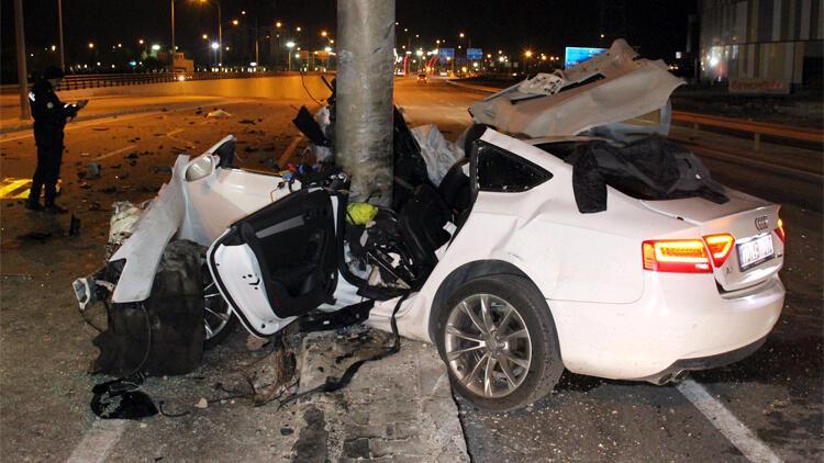 Son dakika haber: Karaman'da korkunç kaza! Feci şekilde can verdi...