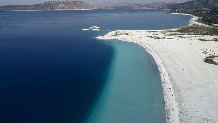 Salda Gölü Tabiat Parkı alanı 570 dekara çıkarıldı