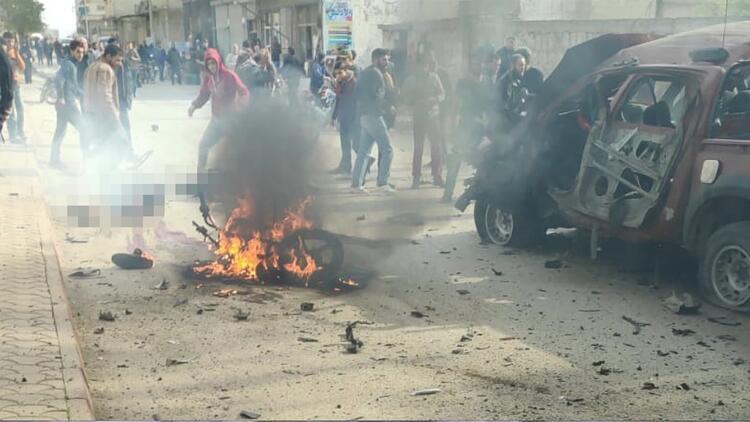 Suriye'nin kuzeyindeki Azez'de terör saldırısı: 2 ölü