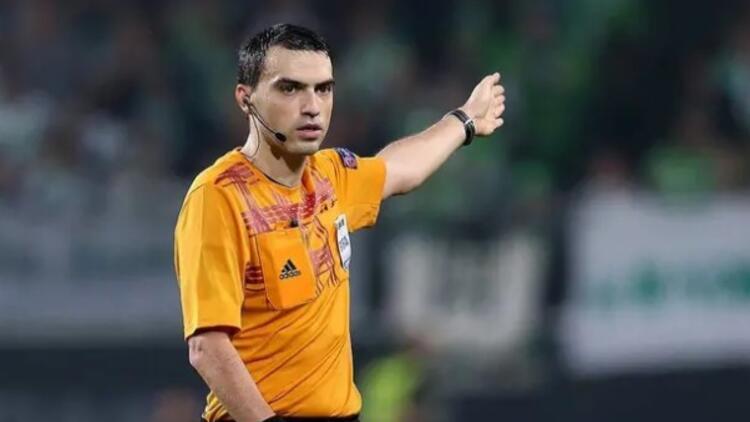 Başakşehir-Roma maçını Rumen hakem Ovidiu Hatega yönetecek
