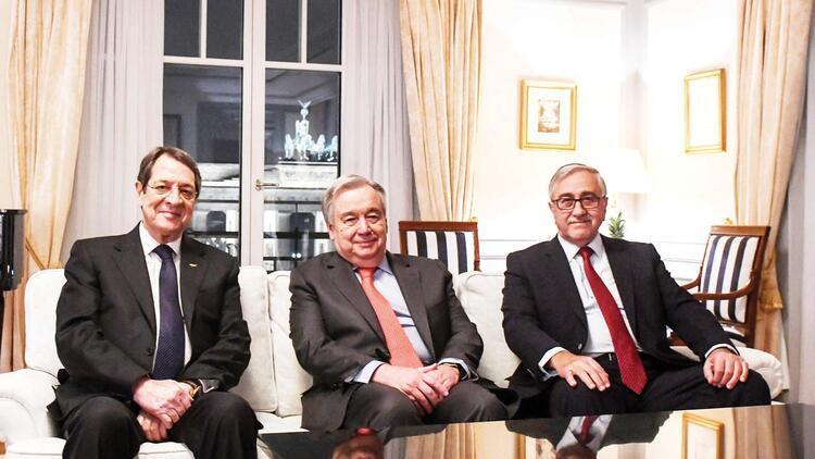 İki yıl sonra ilk Kıbrıs zirvesi