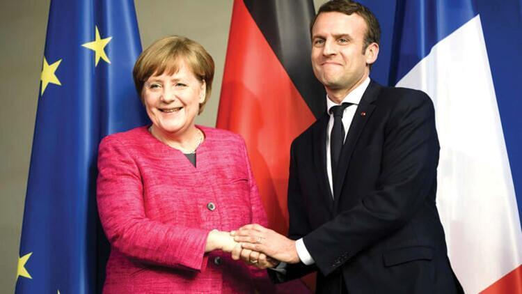 NYT: Macron Merkel'e öfkeli