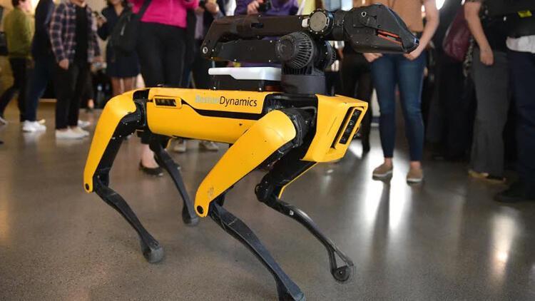 Boston Dynamics'in robot köpeği bomba imha ekibinin bir parçası oldu