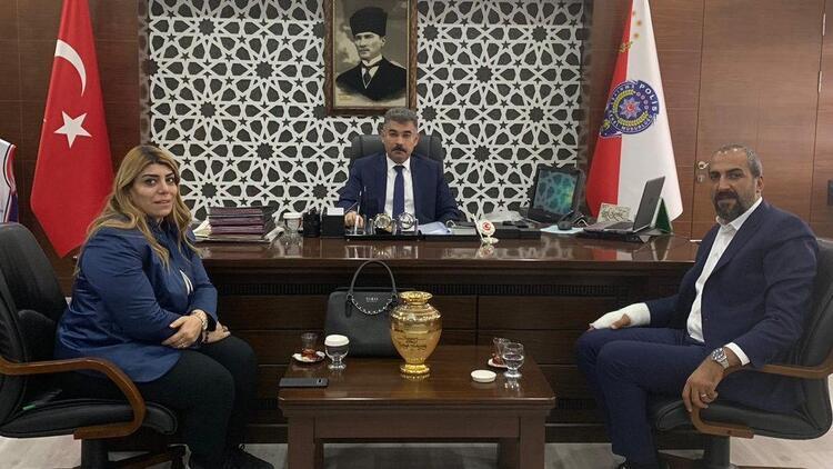 Kayserispor Başkanı, Emniyet Müdürü'nü ziyaret etti