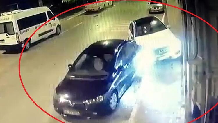 Avcılar'daki kaza kamerada