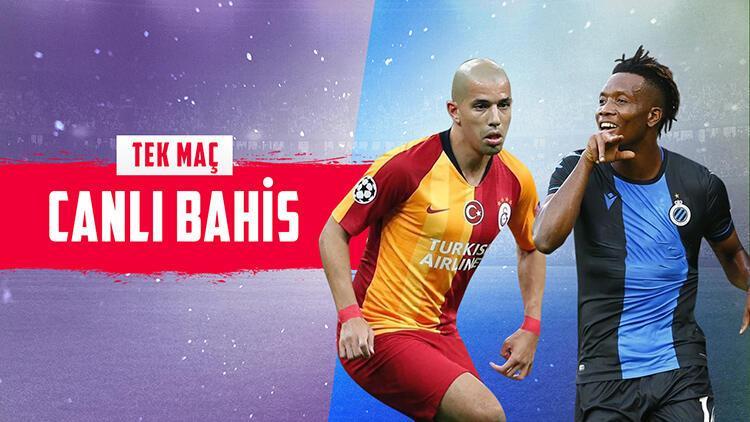 Galatasaray'ın konuğu Club Brugge! Takımda 13 eksik, iddaa'da galibiyetlerine...