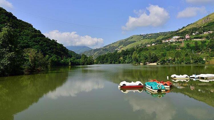 Trabzon'daki Sera Gölü'nün temizliği tamamlandı