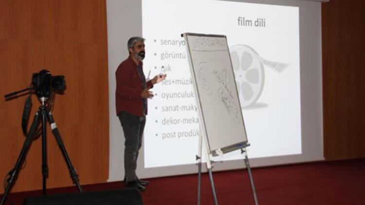 Hakkari'de sinema atölyesi