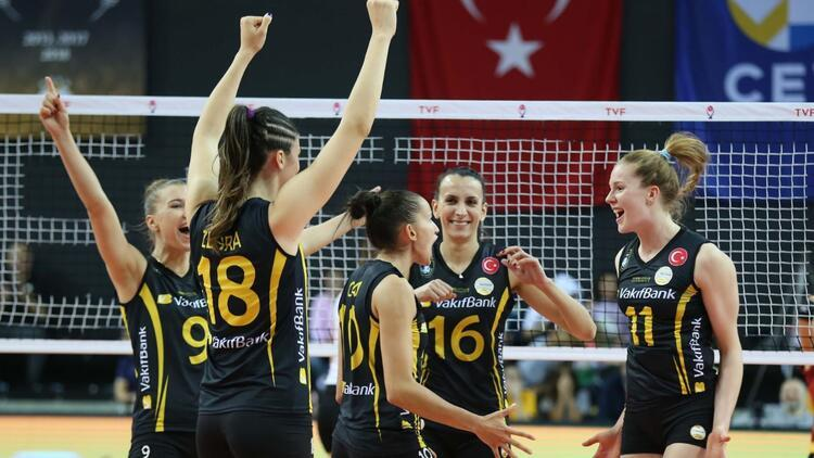 VakıfBank, CEV Şampiyonlar Ligi'nde yarın Nova KBM Branik'e konuk olacak