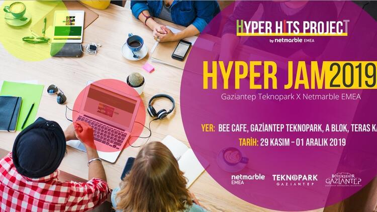 Hyper-casual oyun geliştirme maratonu Hyper Jam Gaziantep'te