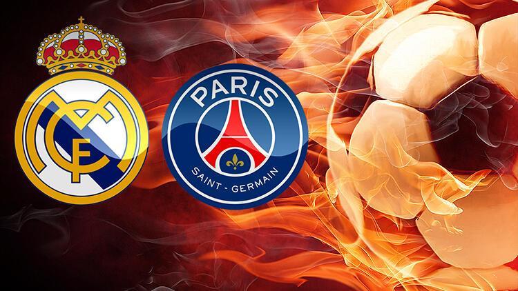 Canlı   Real Madrid - PSG