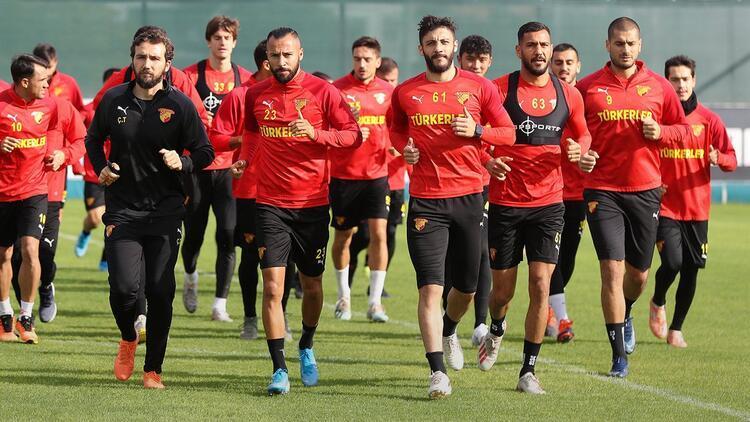 Göztepe, Fenerbahçe maçının hazırlıklarına başladı