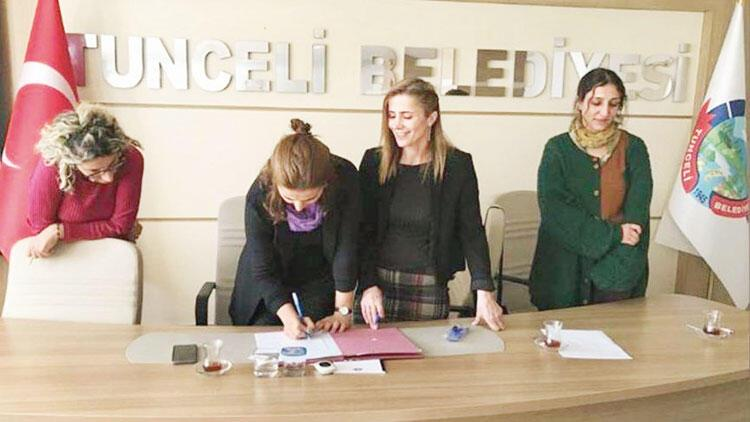 Tunceli'de kadınlara özel gün izni