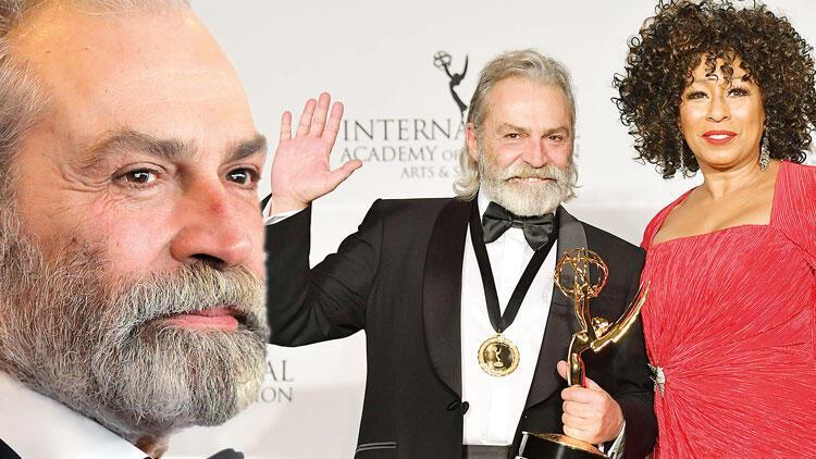 Haluk Bilginer 'en iyi erkek oyuncu' seçildi... Emmy ödülü Türkiye'nin!