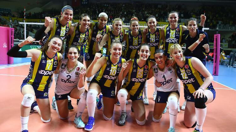 Fenerbahçe Opet, CEV Kadınlar Şampiyonlar Ligi'nde yarın Budowlani'yle karşılaşacak