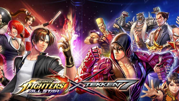 Efsanevi TEKKEN savaşçıları The King of Fighters Allstar'a geliyor