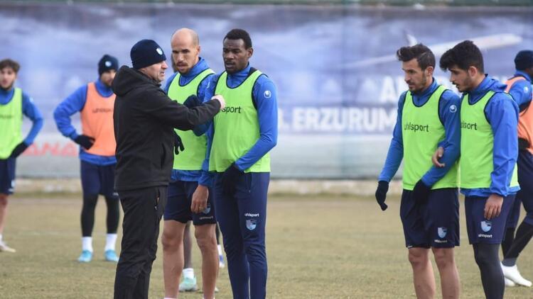 BB Erzurumspor'da Osmanlıspor maçı hazırlıkları sürüyor